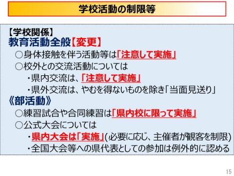 新型コロナウイルス感染症警戒レベルを「感染警戒期の特別警戒期間」に引き下げについて(愛媛県)
