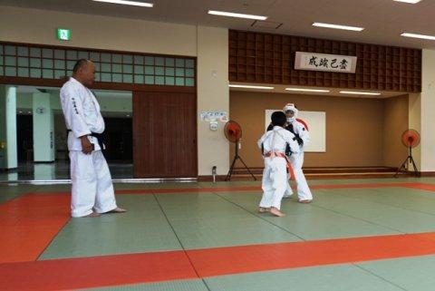 西日本豪雨、愛媛県連盟強化練習(7月)