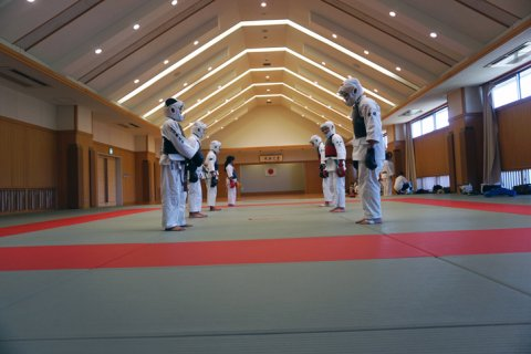 愛媛県連盟強化練習(8月-1)