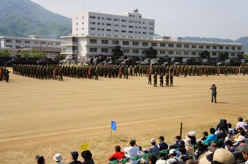 第14旅団創隊6周年及び駐屯地開設62周年記念行事