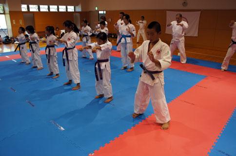 愛媛県連盟強化練習(8月)