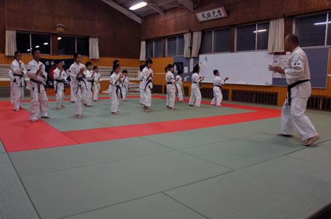 テレビ愛媛 「EBCスーパーニュース」スポーツ愛媛 取材 by 今治拳友会