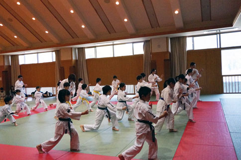 愛媛県連盟第10回昇段級審査