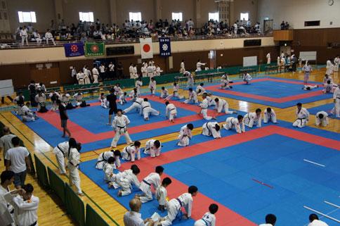 日本拳法第12回全国都道府県対抗大会(団体戦)