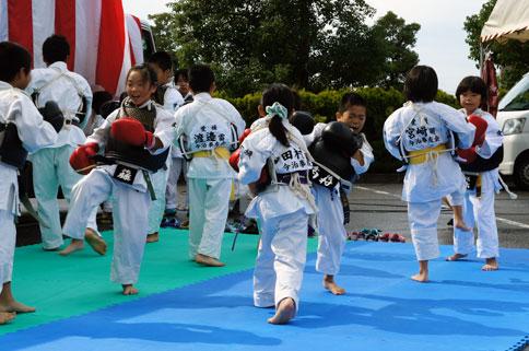 いよいよ明日!生協まつり de 日本拳法デモンストレーション!