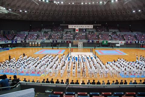リングの使用 in 総合選手権2011