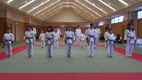愛媛県連盟第12回昇段級審査