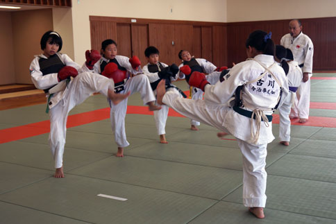 愛媛県連盟強化練習(7月-2)
