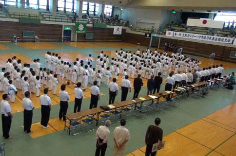 第26回大阪府スポーツ少年団日本拳法競技大会