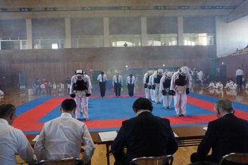 2014日本拳法愛媛県大会(団体戦)決勝戦・三位決定戦