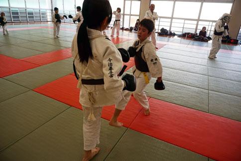 愛媛県連盟強化練習(10月-3)