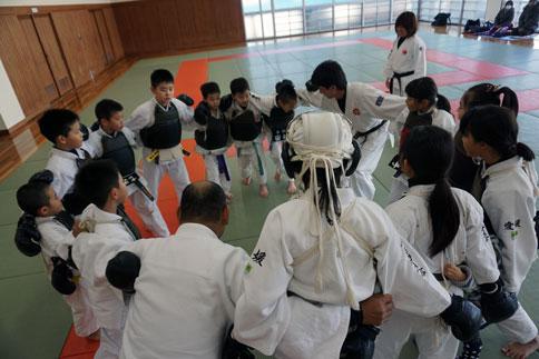 愛媛県連盟強化練習(1月-1)