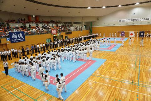 第15回日本拳法全国少年大会・団体戦