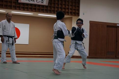 愛媛県連盟強化練習(10月-1)