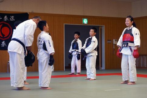 愛媛県連盟強化練習(10月-2)