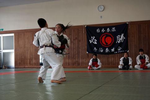 愛媛県連盟強化練習(4月-2)