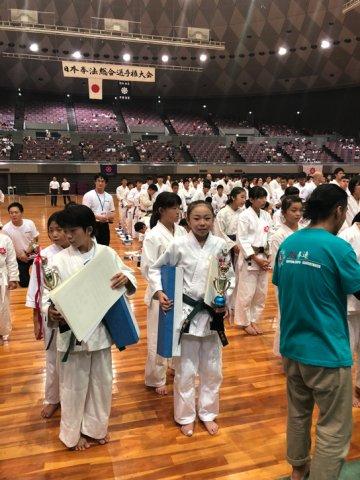 2018日本拳法総合選手権大会決勝戦(小学5年女子) by 今治拳友会
