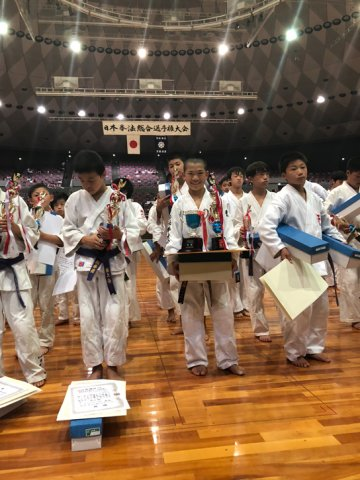 2018日本拳法総合選手権大会決勝戦(小学6年男子) by 今治拳友会