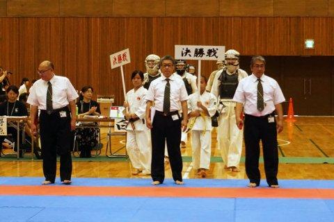 2018日本拳法愛媛県大会ファイナルステージ第二部(高校一般部門決勝戦)