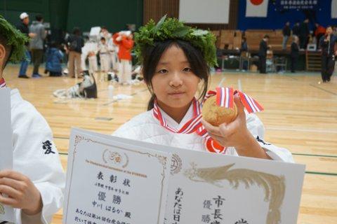 2018日本拳法白虎会大会決勝戦(小学中学年女子) by 今治拳友会
