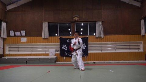 地撃八門之形 (Chigeki Hachimon) by 今治拳友会(2019/1/15)