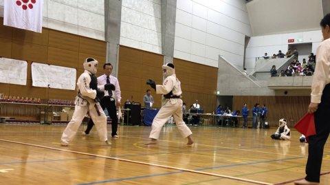 2019日本拳法全国少年大会個人戦決勝(中学1年男子) ver. 今治拳友会