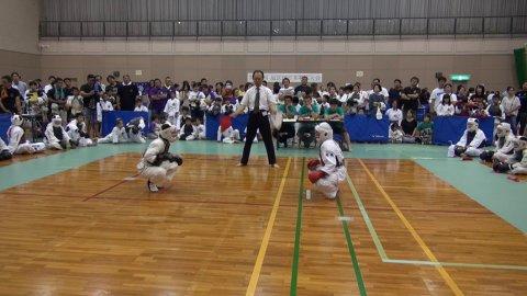 2019旭区民日本拳法大会 決勝戦(小学5年女子) by 今治拳友会