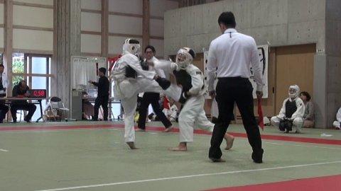 2019日本拳法徳島大会三位決定戦・決勝戦(中学1年男子) 今治拳友会ワンツースリー