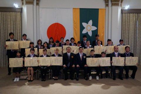 愛顔のえひめ文化スポーツ賞表彰式