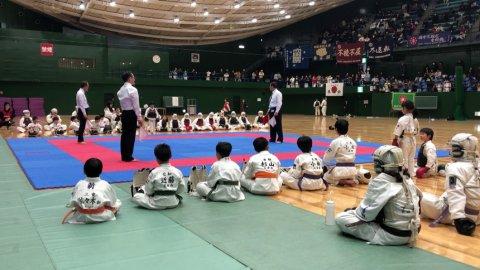 2020日本拳法白虎会大会決勝戦(小学校1年生女子) by 今治拳友会