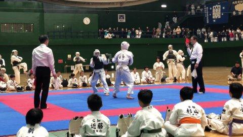 2020日本拳法白虎会大会決勝戦(中学1年生男子) by 今治拳友会