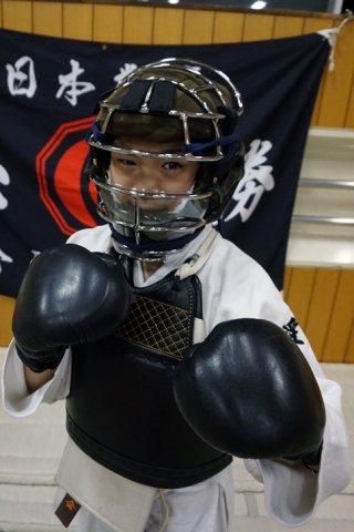 日本拳法面用マスク ! マウスガード