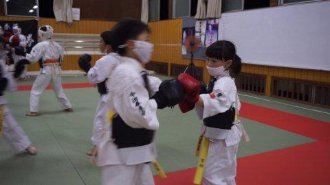 Kids class of Imabari Kenyuukai (2020.06.30)