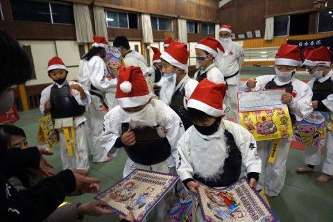 今治拳友会サタディナイト・クリスマス稽古