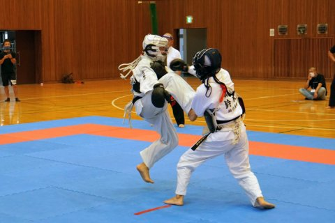 2021日本拳法愛媛県大会 ハイライト3 ver.高校生・一般 (中学生、大人の部にチャレンジ編)