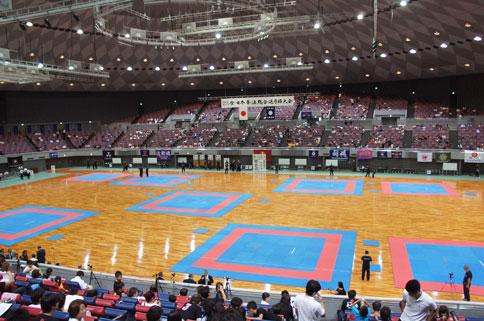 全・日本拳法総合選手権大会1