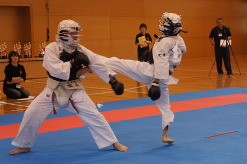 日本拳法愛媛県大会2