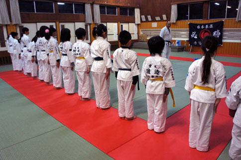 正月明け、仕事始め、仕事初めの日本拳法。