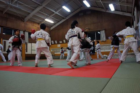 新学期の日本拳法
