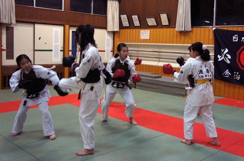 建国記念日前日、大和の国の日本拳法