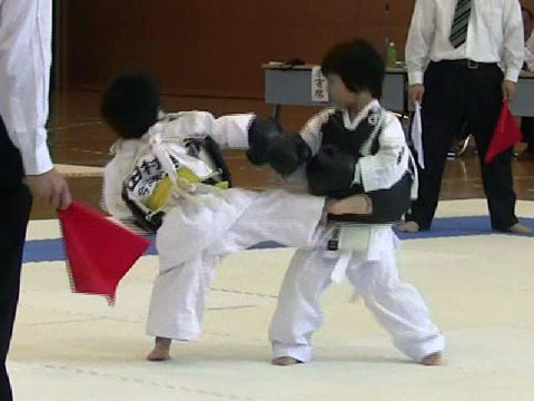 KOTARO (3 years old)debut match